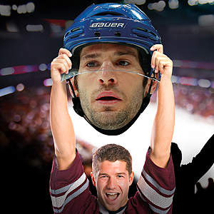 Ryan Kesler Big Head Cut Out